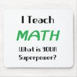Teach math mouse pad