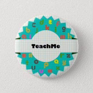Teach Me Alphabet Round Button