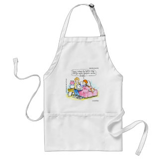 Teach Me To Read Satire Daddy Funny Adult Apron
