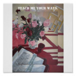 Teach me your ways. poster