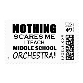 Teach Middle School Band Stamp