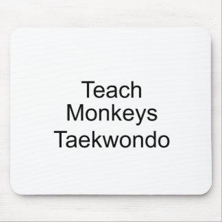 Teach Monkeys Mousepad