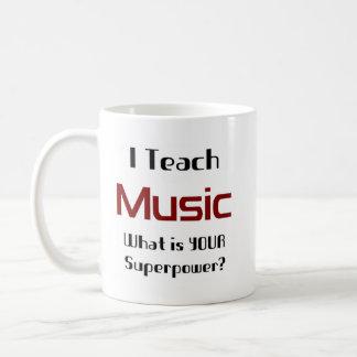 Teach music coffee mug