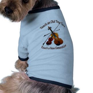 Teach Old Time Doggie Tee
