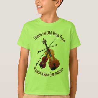 Teach Old Time Kids T-shirt