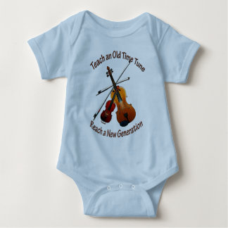 Teach Old Time Tune Infant Bodysuit