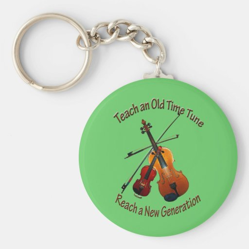 Teach Old Time Tune - Keychain