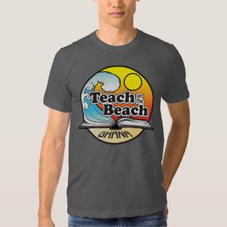 Teach on the Beach - Large Emblem Shirts