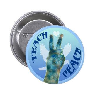 Teach Peace 1 Button