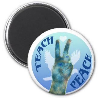 Teach Peace 1 Fridge Magnet