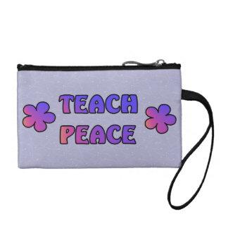 Teach Peace Coin Wallet