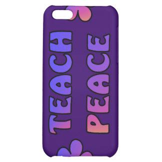 Teach Peace iPhone 5C Cover