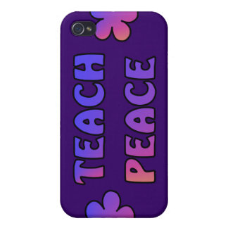 Teach Peace Covers For iPhone 4