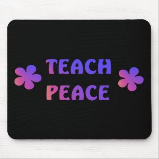 Teach Peace Mouse Pad