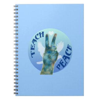 Teach Peace Note Book