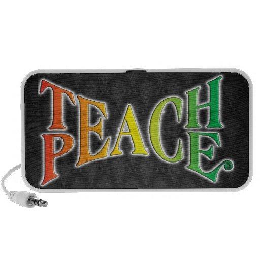 Teach Peace Portable Speaker
