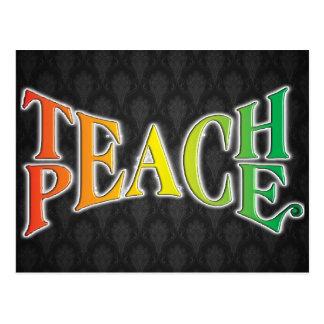 Teach Peace Postcard