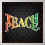 Teach Peace Posters