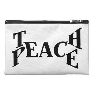 Teach Peace Travel Accessories Bag
