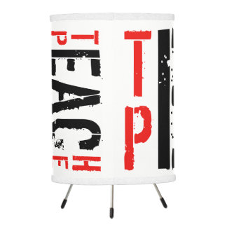 Teach Peace Tripod Lamp