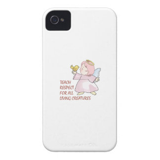 TEACH RESPECT iPhone 4 COVERS