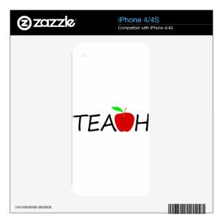 teach skin for iPhone 4S