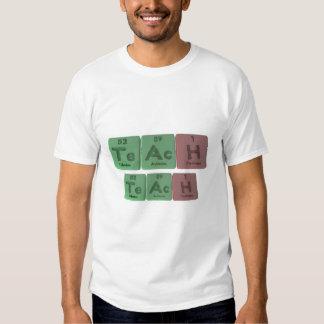 Teach-Te-Ac-H-Tellurium-Actinium-Hydrogen.png T-Shirt