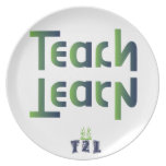 Teach to Learn Product Dinner Plate