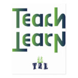 Teach to Learn Product Post Cards
