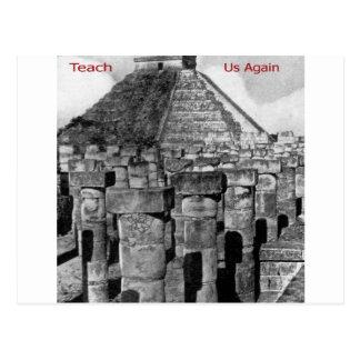 Teach Us Again Postcard