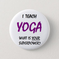 Teach yoga button