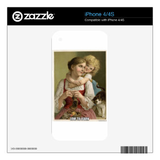 Teach your child skin for the iPhone 4S