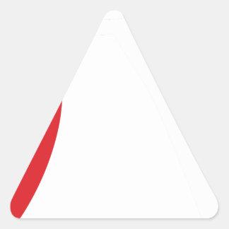 teacher2 triangle sticker
