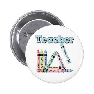 Teacher 2 Inch Round Button