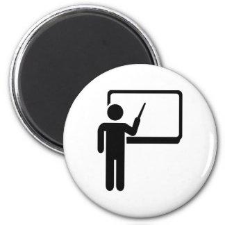 Teacher 2 Inch Round Magnet