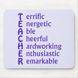 Teacher Acronym Mousepad