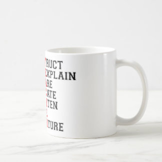 Teacher Acrostic Coffee Mug