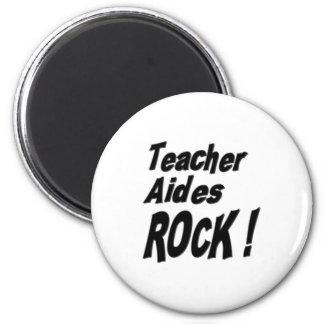 Teacher Aides Rock! Magnet