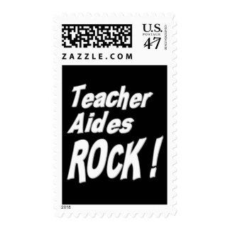 Teacher Aides Rock ! Stamp