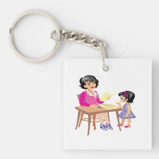 Teacher and Student Keychain