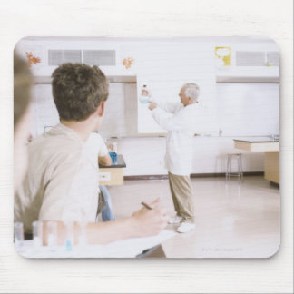 Teacher and Students in Lab 2 Mouse Pad