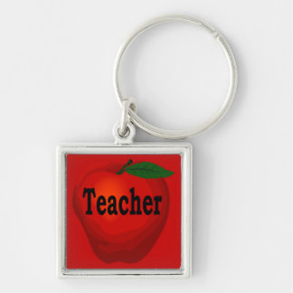 Teacher Apple Key Chain