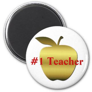 Teacher Apple Magnet