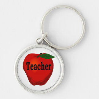 Teacher Apple Premium Keychain
