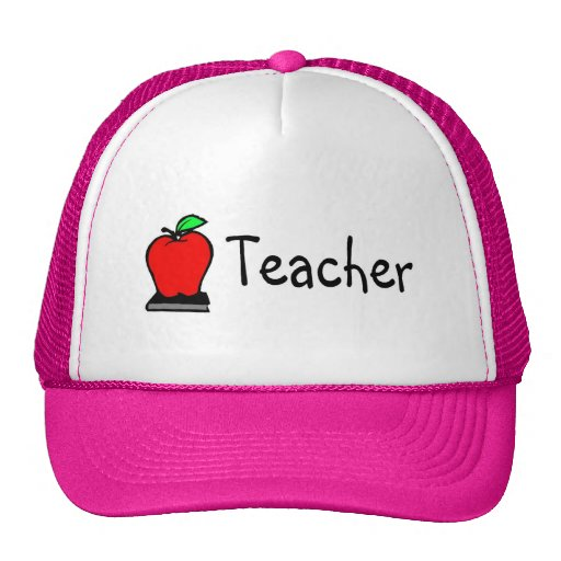Teacher Apple Trucker Hat