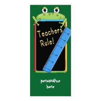 Teacher Appreciation Bookmark Cards Teacher's Rule