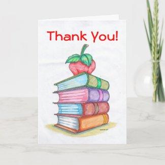 Teacher Appreciation Card card