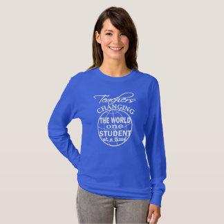 Teacher Appreciation Changing The World T-Shirt