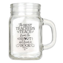 Teacher Appreciation Class Gift Idea Thank You Mason Jar