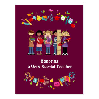 Teacher Appreciation Customizable Greeting Cards